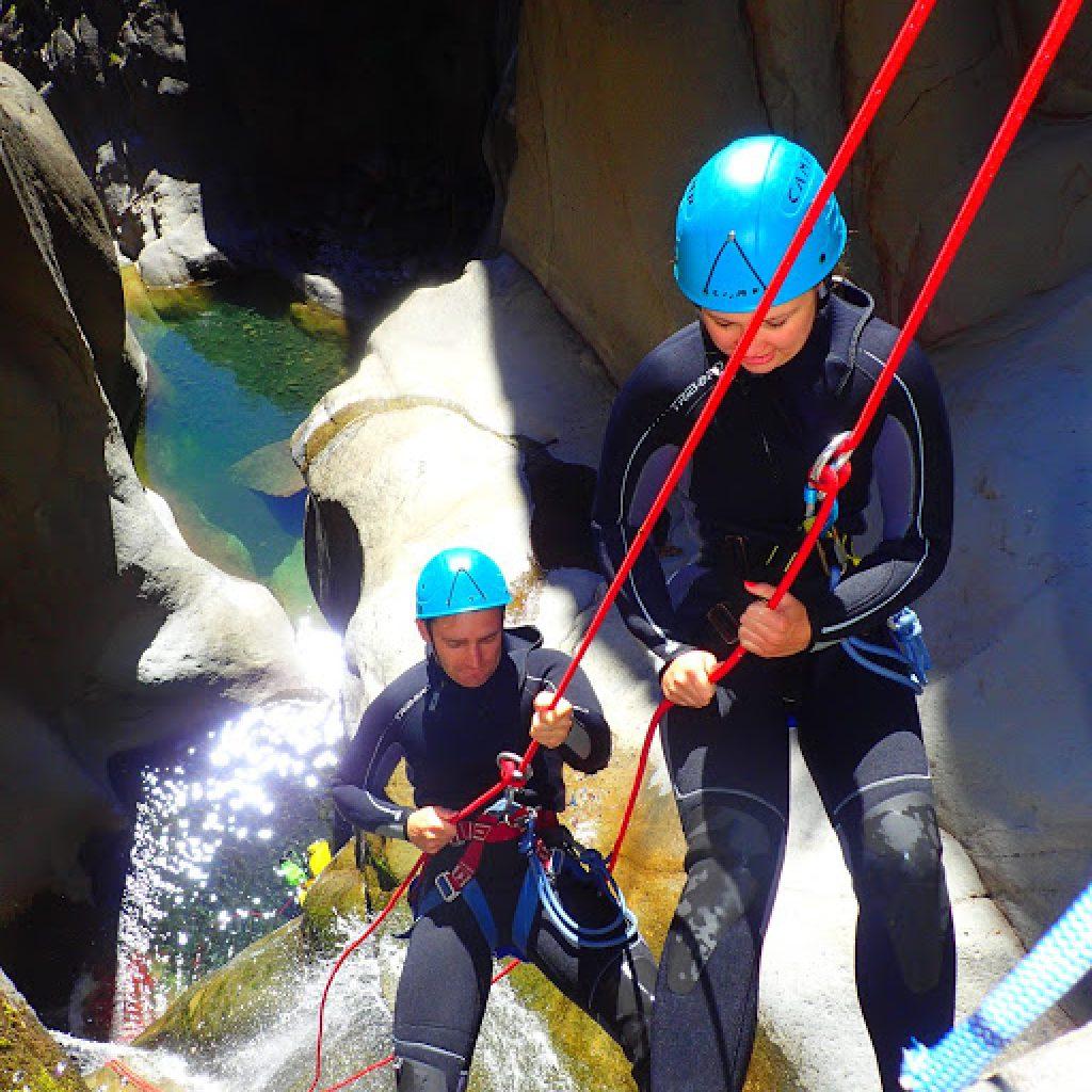 Planning canyon de Fleurs Jaunes